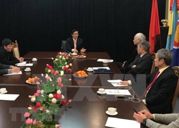 La communaute vietnamienne en Ukraine a un role important pour les relations bilaterales hinh anh 1