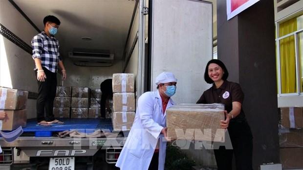 Ba Ria-Vung Tau exporte les 2 premieres tonnes de produits de chocolat au Japon hinh anh 1