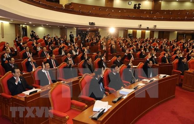 Cloture du 14e Plenum du Comite central du Parti hinh anh 3