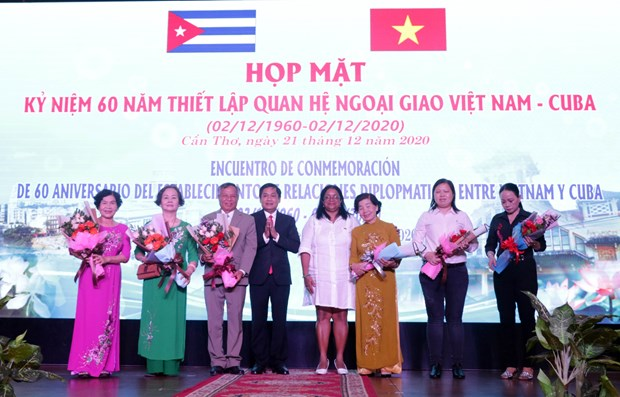 Celebration des 60 ans des relations Vietnam-Cuba a Can Tho hinh anh 1