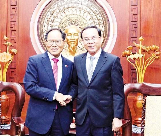 Ho Chi Minh-Ville et la Republique de Coree resserrent leur cooperation hinh anh 1