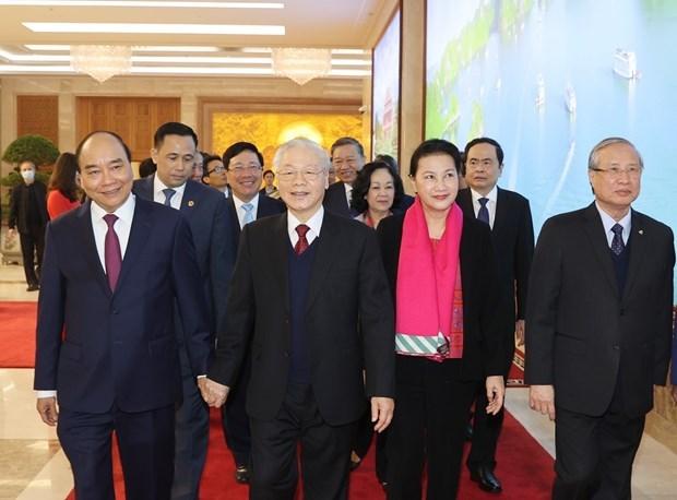 Ouverture de la visio-conference entre le gouvernement et les localites hinh anh 3