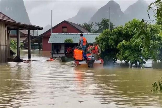 Les Pays-Bas viennent en aide aux habitants des zones inondees a Quang Nam hinh anh 1