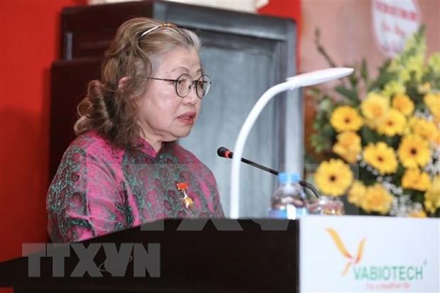 Une chercheuse specialiste des vaccins a l'honneur hinh anh 2