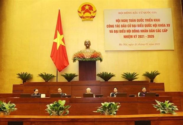 Le dirigeant Nguyen Phu Trong demande d'organiser avec succes les prochaines elections legislatives hinh anh 2