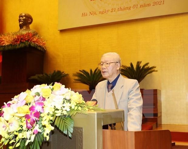 Le dirigeant Nguyen Phu Trong demande d'organiser avec succes les prochaines elections legislatives hinh anh 1