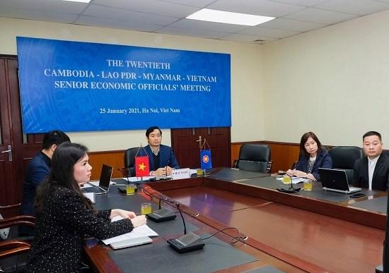 Elaboration du plan d'action regional Cambodge-Laos-Myanmar-Vietnam 2021-2022 hinh anh 1