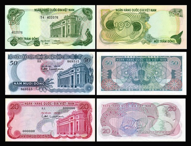 Exposition sur les monnaies vietnamiennes de differentes epoques hinh anh 1