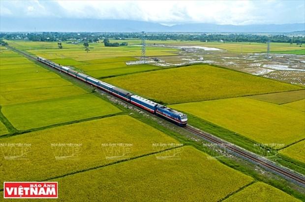 La ligne ferroviaire a grande vitesse Ho Chi Minh-Ville - Can Tho a l'etude hinh anh 1