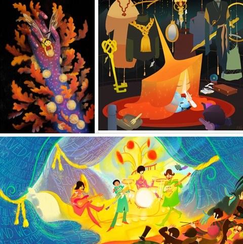 Bientot a Paris, une exposition de peinture d'une jeune artiste vietnamienne hinh anh 2