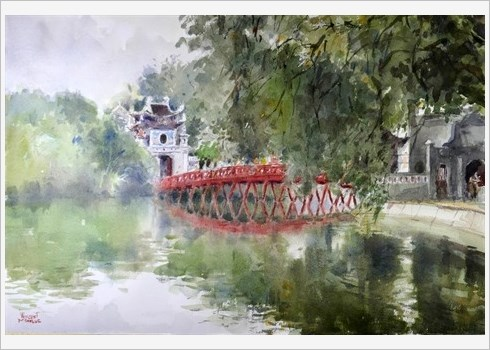 Les aquarelles du quotidien de Vincent Monluc hinh anh 1