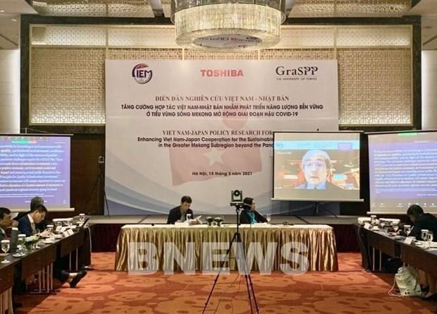 Vietnam-Japon : cooperation pour le developpement energetique durable dans la GMS hinh anh 1