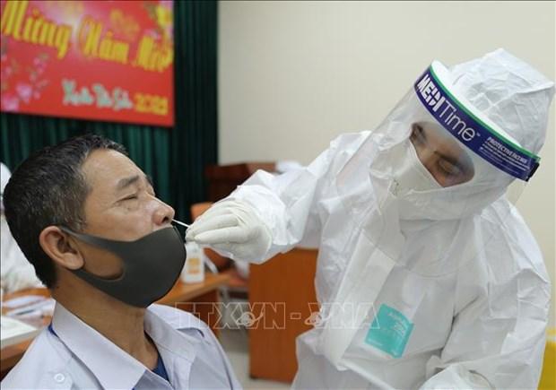 COVID-19: deux nouveaux cas signales dans la province de Hai Duong hinh anh 1