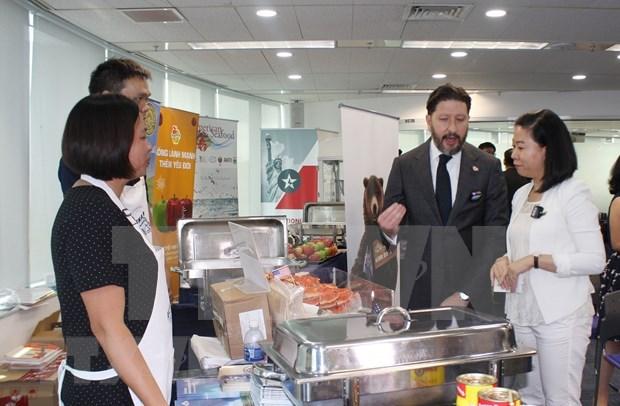 Promotion des produits agricoles americains au Vietnam hinh anh 1