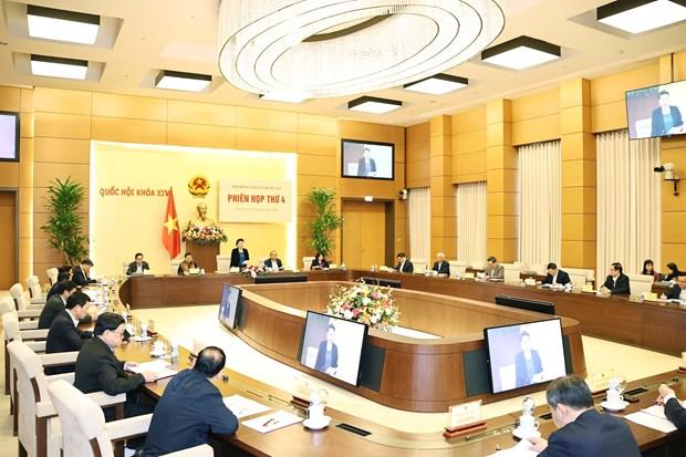 La presidente de l'AN preside la 4e session du Conseil electoral national hinh anh 2