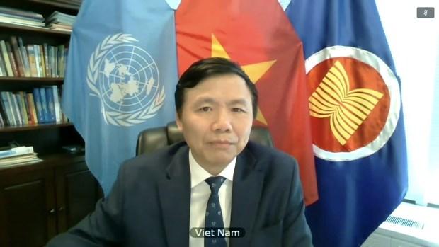 Le Vietnam a la reunion virtuelle du Conseil de securite sur la situation au Kosovo hinh anh 1
