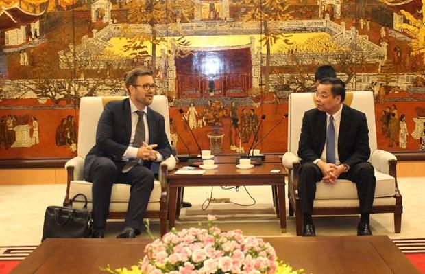 Hanoi veut renforcer sa cooperation avec les capitales des pays nordiques hinh anh 2