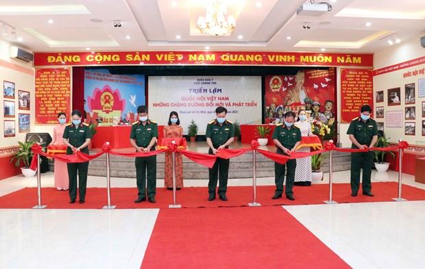 Ouverture d'une exposition sur l'Assemblee nationale vietnamienne hinh anh 2