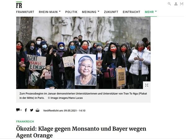 Les consequences de l'agent orange persistent au Vietnam, selon un journal allemand hinh anh 2