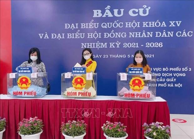 De nombreux journaux etrangers ont rendu compte des elections au Vietnam hinh anh 2