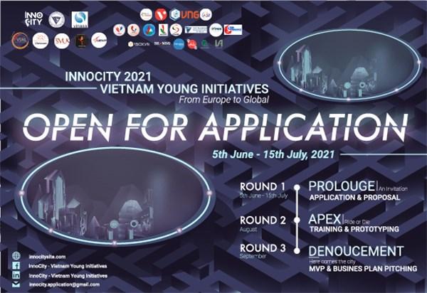 Lancement du programme « Initiatives des jeunes vietnamiens en Europe » - Innocity 2021 hinh anh 1