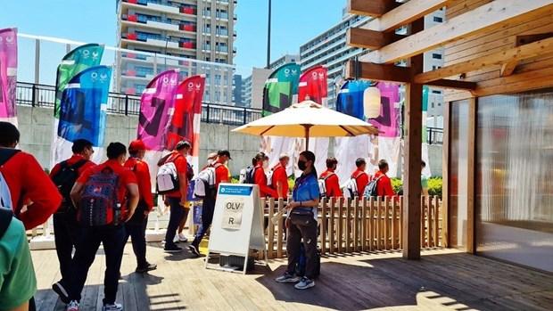 JO de Tokyo 2020: les Vietnamiens au Japon parrainent des emetteurs wifi gratuits pour les sportifs hinh anh 1