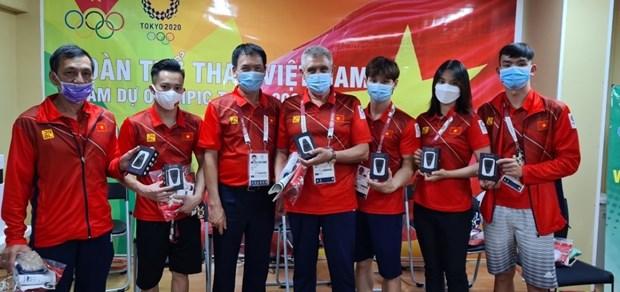 JO de Tokyo 2020: les Vietnamiens au Japon parrainent des emetteurs wifi gratuits pour les sportifs hinh anh 2