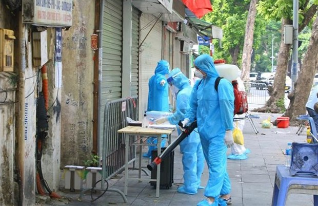 COVID-19 : Hanoi detecte 17 nouveaux cas hinh anh 1