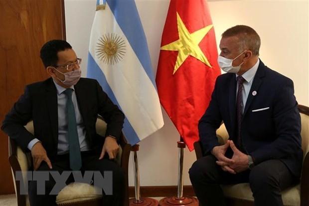 Vietnam y Argentina fortalecen su cooperación descentralizada Hinh Anh 1