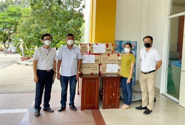 Les Vietnamiens d'outre-mer soutiennent la prevention et le controle de COVID-19 hinh anh 1