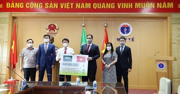 L'Arabie saoudite soutient le Vietnam dans le combat contre le COVID-19 hinh anh 1