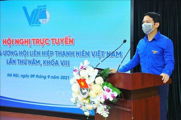 La Federation de la jeunesse du Vietnam a un nouveau president hinh anh 1