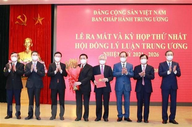 Le Conseil theorique central du Parti, mandat 2021-2026, tient sa premiere reunion hinh anh 1