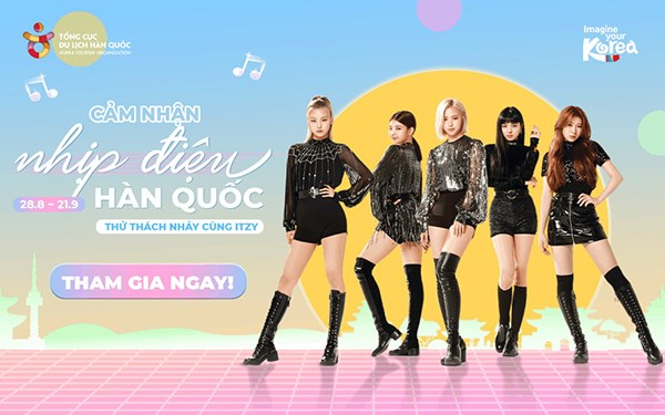 KTO Vietnam lance un concours de danse avec ITZY sur la plateforme Tiktok hinh anh 1