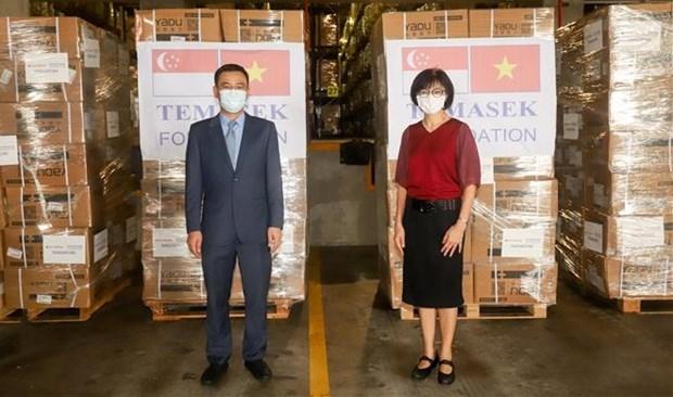 La Fondation Temasek (Singapour) soutient le Vietnam dans la lutte contre le COVID-19 hinh anh 1