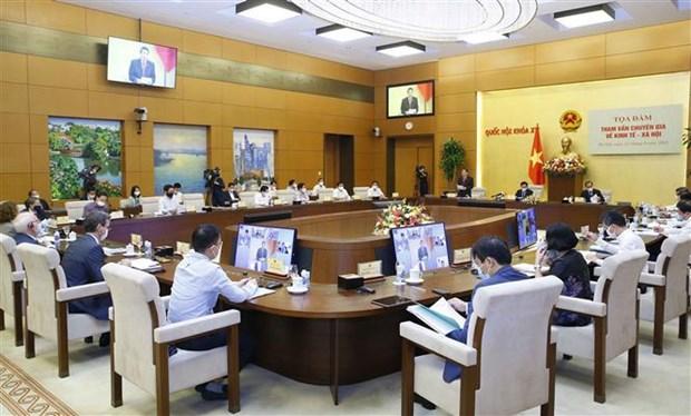 Debat sur la reprise socio-economique en phase post-pandemique au Vietnam hinh anh 1