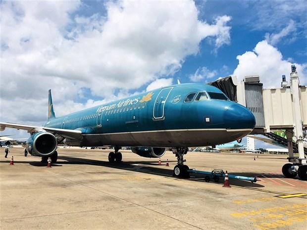 Vietnam Airlines effectue 7 vols domestiques lors du premier jour de reprendre ses activites hinh anh 1