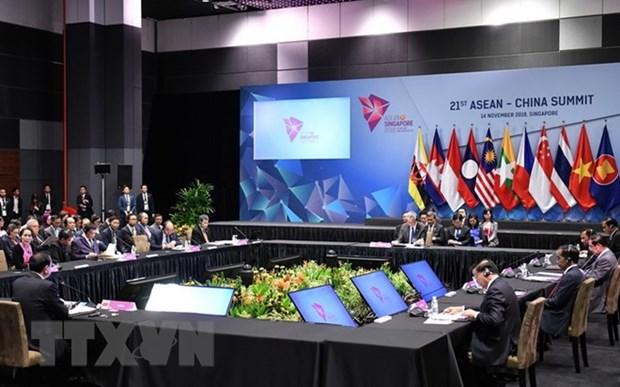 ASEAN et Chine adoptent leur Vision de partenariat strategique 2030 hinh anh 1