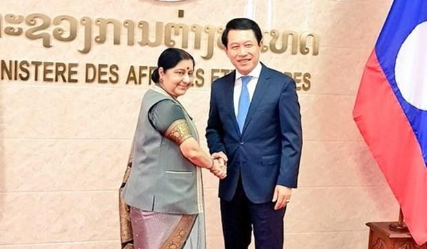 Inde et Laos fixent le processus de renforcement des relations bilaterales hinh anh 1