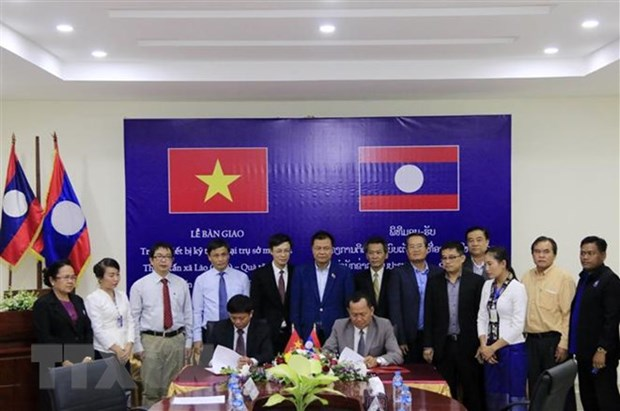 VNA et KPL, le pont qui resserre les liens Vietnam-Laos hinh anh 1