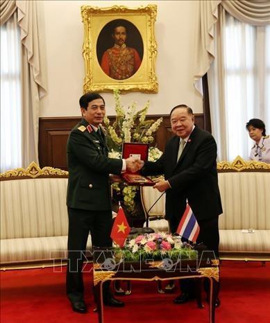 Vietnam et Thailande promeuvent leur cooperation dans la defense hinh anh 1