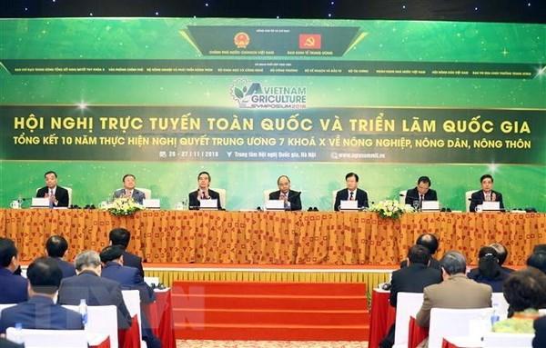 La videoconference et l'exposition nationale sur l'agriculture et la campagne hinh anh 1