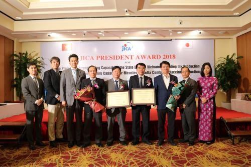 Des etablissements vietnamiens honores par le JICA hinh anh 1