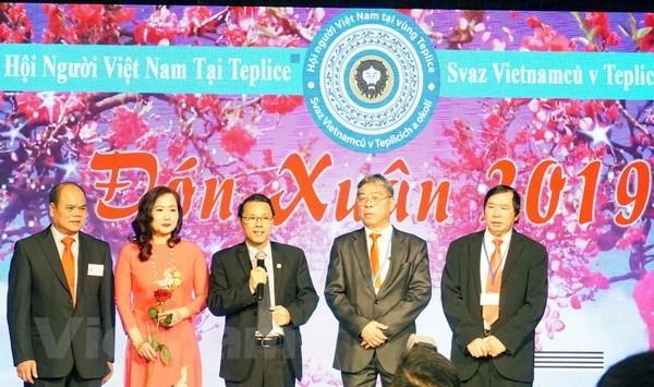 Des Vietnamiens a l'etranger fetent le Nouvel An 2019 hinh anh 1