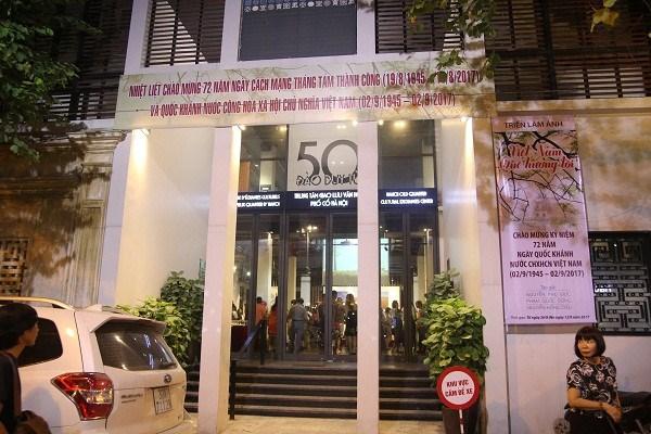 Le Centre d'echanges culturels du vieux quartier de Hanoi hinh anh 1