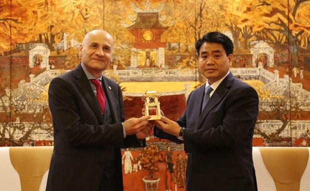Hanoi est pret a promouvoir la cooperation avec l'Italie hinh anh 1