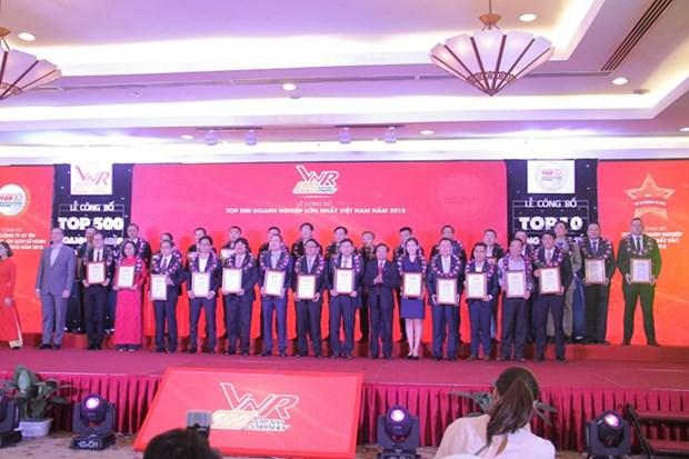 PVN figure dans le top 500 des grandes entreprises du Vietnam hinh anh 1