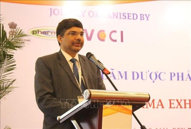 Promotion de la cooperation Vietnam-Inde dans l'industrie pharmaceutique hinh anh 1