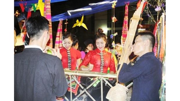 Le chant « giao duyen » des Thai a Muong Lo hinh anh 1