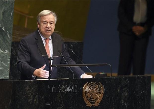 Le secretaire general de l'ONU optimiste quant aux resultats du Sommet Etats-Unis-RPDC hinh anh 1